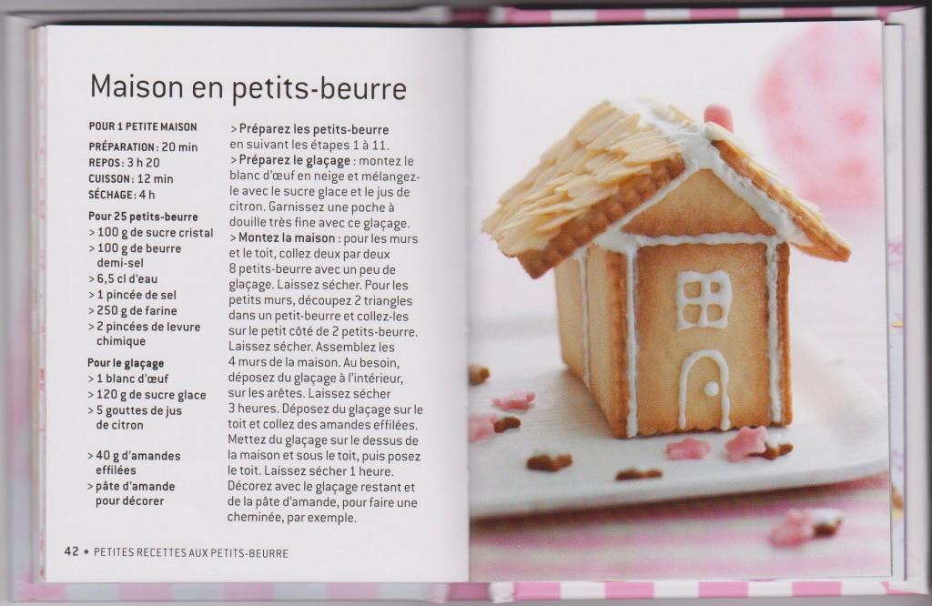 Maison en petits beurre patisserie envie gourmandise for Petit dejeuner en amoureux maison